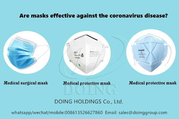 Are masks effective against the coronavirus disease?